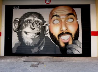 La careta de los simios